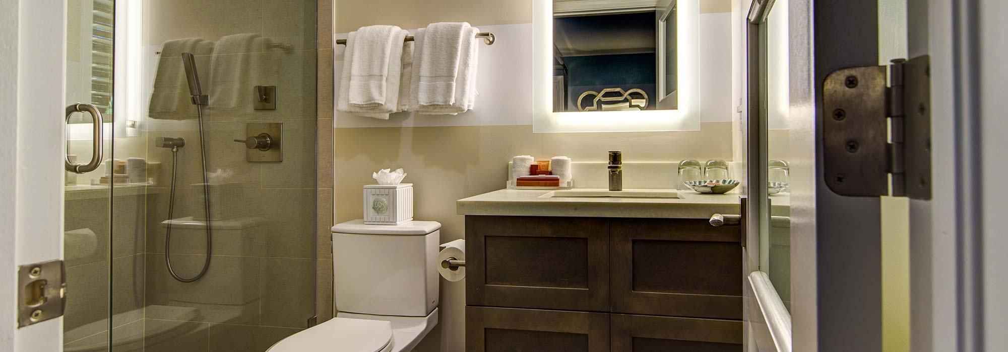 Luxury Villa Bathroom.
