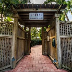 South Side Property Entrance.