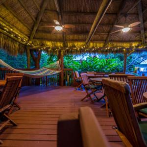 South Tiki Hut.